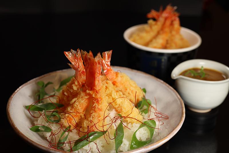 和風 天ぷらカレー丼